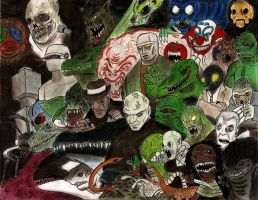 The Worlds Greatest B-Movie Monsters of all Times by MonsterKingOfKarmen