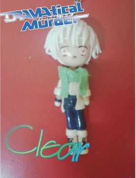 DRAMAtical murder:Clear polymer clay chibi ^.^ by piki12
