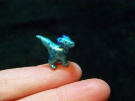 really tiny dragon by AmandaKathryn
