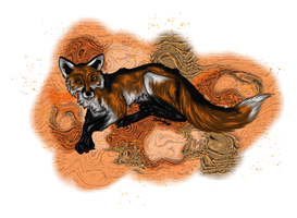Commission: The fox by Blackwolfpaw
