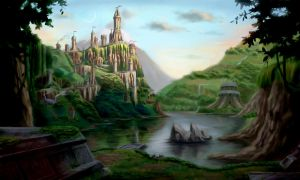 Forested Kingdom by tommyscottart