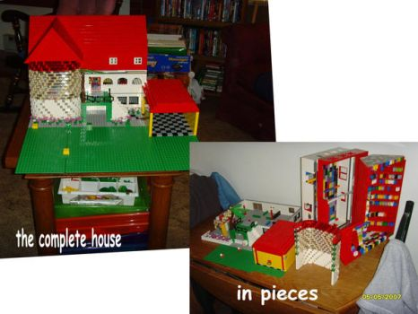3 story house by legochick08