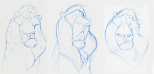 lion by thedoberman