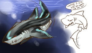Megalodon Shark by itsmar