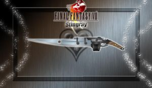 FFVIII Custom Gunblade - Stingray - by WeapondesignerDawe