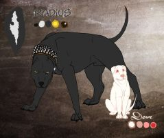 *RH* Radius and Dove reff sheet by CrazyRodeoGirl