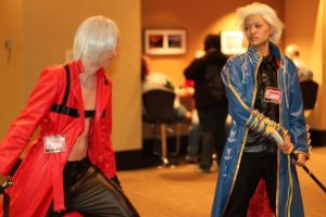 Dante vs. Vergil by Aether-Shadow