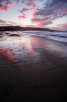 las Canteras sunset by ZenonSt