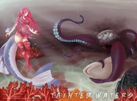{ tainted waters } by PrinceProcrastinate