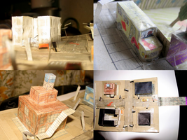 Silent Hill 1 paper model / paperwork #2 by SILENT0Pavel