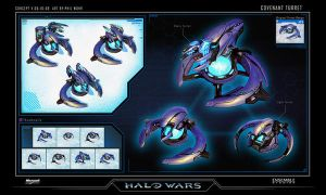 Halo Wars Covenant Turrets 2 by saizarod