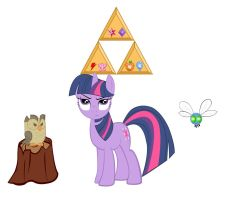 Twilight ....Zelda....Pony... by PuppyloveBrandy