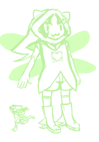 Nepeta God Tier Concept by Shikana