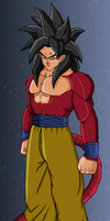 goku pixel for masterx70 by Naruttebayo67