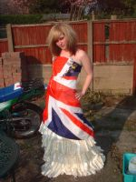 Union Jack dress by peggypirateface