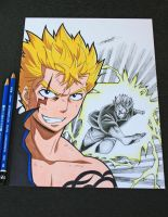 Laxus Dreyar - The Lightning Dragon! by InlineSpeedSkater