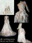 1887 wedding dress by Saelok