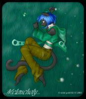 Melancholy Thoughts by vickitty