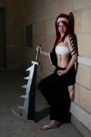 Abarai Renji (fem)- Ready to go by shelle-chii
