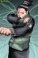 First Shikamaru evar by TheLegendOfLink