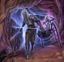 Drow final by DarianaLoki
