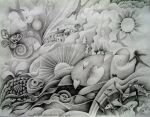 Drawing for Dreamscape by karincharlotte
