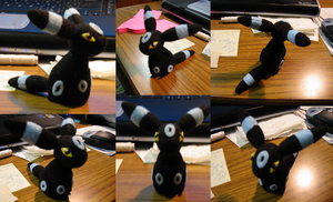 Umbreon Bell Plush Commission by Soudaiya