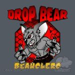 MMA DROP BEAR - GOLD by btnkdrms