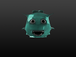 Sculptris Sea Creature by rosemarissa48
