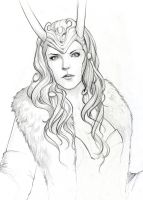 Lady Loki sketch by SulaMoon