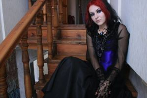 gothic doll stock3 by MysteriaViolentStock