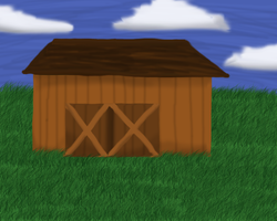 A barn in the middle of no where X3 by lunarxCloud