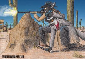 Negotiating, Wild West style by Deceitful-Fox