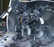 Starscream 3 wip silver foundation pic 3 by Catskind