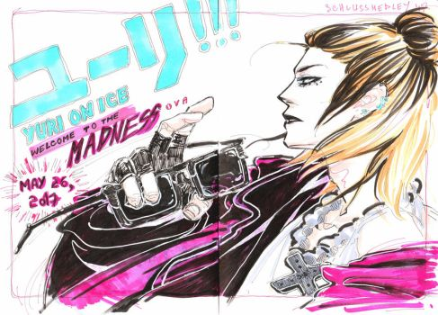 Yurio - Welcome to the madness by Schlussmedley