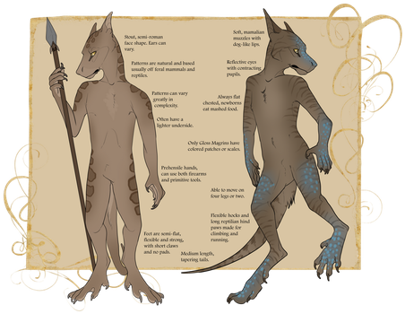 Magrins : Open Species by skypoot