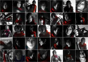 Carla Radames and the legendary red scarf! by Carla54