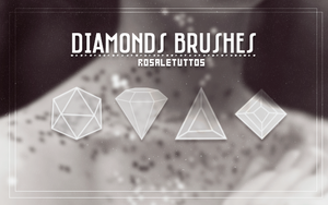 #Diamond Brushes by RosaleEditions