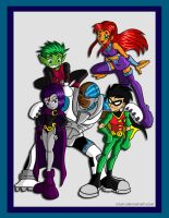 Teen Titans by vilsy