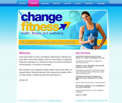 ChangeFitness.CO.UK - Website by leviiathan