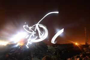 Abstract lightpainting by Agulor