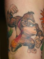 donkey kong by mrstaggerlee