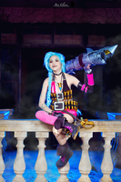 League of Legends: Jinx by JoviClaire