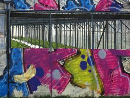 Greenhouse and graffiti ( 1 ) by UdoChristmann