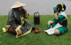 Tea with uncle Iroh 2 by Punkkis-chan