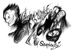Speed Sketch - SimpleXity Diaries from Torah by amorias