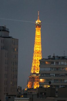 Eiffel -tower, Paris by tiialol