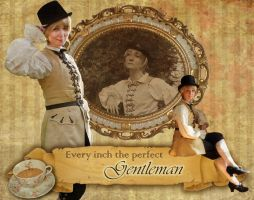 England: Every Inch the Perfect Gentleman by e-Sidera