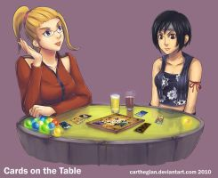 Cards On The Table by Carthegian by godengine666