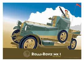 Rolls Royce 1924 v2 by MercenaryGraphics